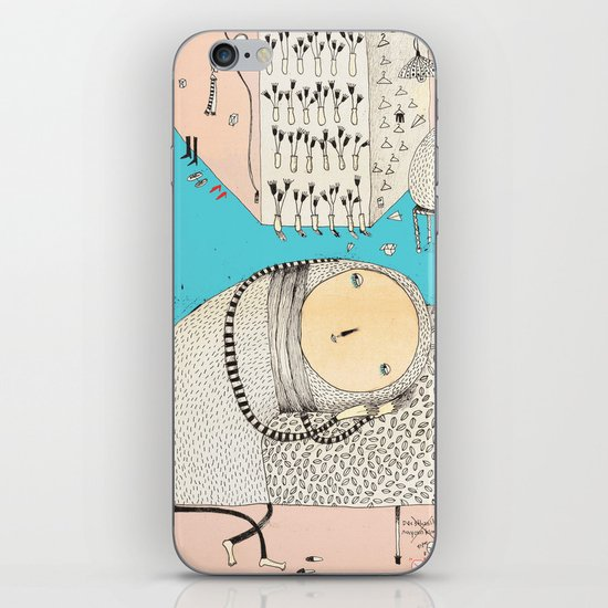 My daily life. iPhone & iPod Skin