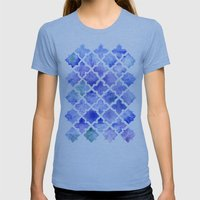 Into The Blue Womens Fitted Tee Athletic Blue SMALL