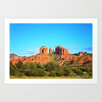 Cathedral Rock Sedona Ar… Art Print