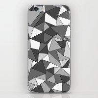 Ab Collide Grey iPhone & iPod Skin