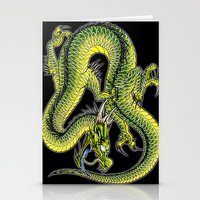 japanese dragon 9 Stationery Cards