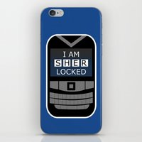 I Am Sherlocked - Sherlock Holmes Locked Phone iPhone & iPod Skin