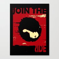 Join us Canvas Print