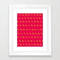 Bird Pop Series Framed Art Print