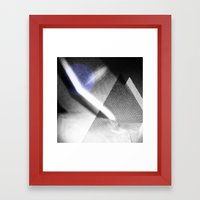 MOONLIGHT_B&W Framed Art Print