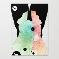 Acid Explorations Canvas Print