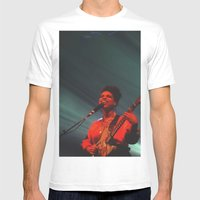 Lianne La Havas: Is your love big enough? Light green Mens Fitted Tee White SMALL
