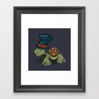 Turtle Chief Framed Art Print