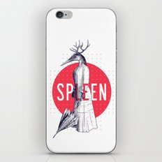 Spleen iPhone & iPod Skin