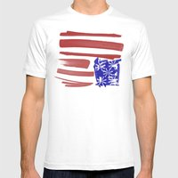 Inversion Mens Fitted Tee White SMALL