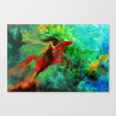 Wind-Flügel Canvas Print