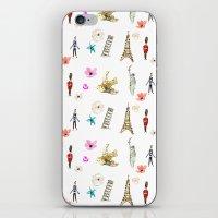 Travelling Fleur iPhone & iPod Skin