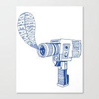Professional Dreamer (Bl… Canvas Print