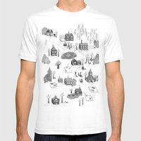 Little Village Mens Fitted Tee White SMALL