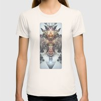 Avenging Angel Womens Fitted Tee Natural SMALL