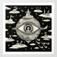 Some Sort Of Mystical Ex… Art Print