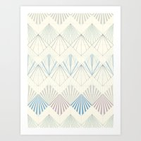 Muted Mellow Art Print