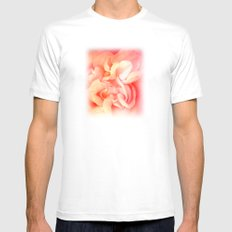 Bed of Roses Mens Fitted Tee SMALL White
