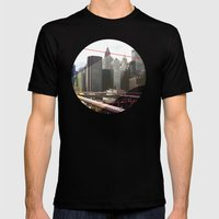NY01 Mens Fitted Tee Black SMALL