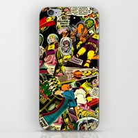 Unexpected - Part III [Final Chapter: Space Riot] iPhone & iPod Skin