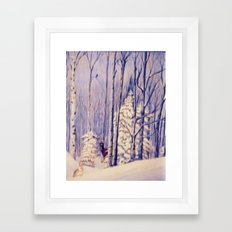 Winter Solace painting Framed Art Print