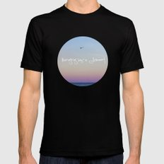 Hanging by a Moment SMALL Black Mens Fitted Tee