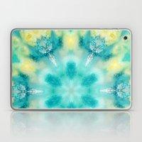 watercolor tie dye Laptop & iPad Skin