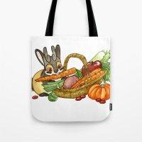 November Jackalope Tote Bag