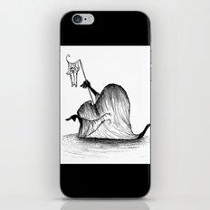 Swamp Monster iPhone & iPod Skin