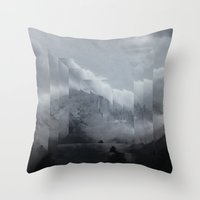 Fractions 00 Throw Pillow