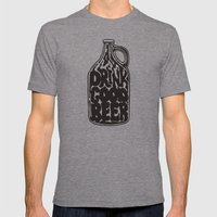 Drink Good Beer Mens Fitted Tee Tri-Grey SMALL