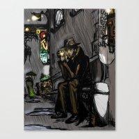 Halogen Dreams Canvas Print