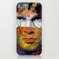 iPhone Cases featuring rock star  by mark ashkenazi