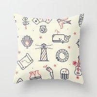 Flash Pattern Throw Pillow