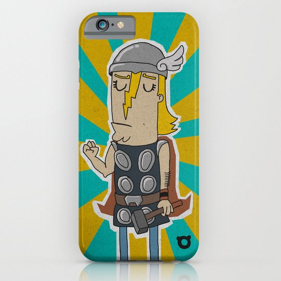 004_thor iPhone & iPod Case