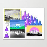 Mountain Study Canvas Print