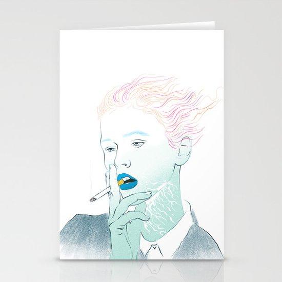 Smoking Kills Stationery Card