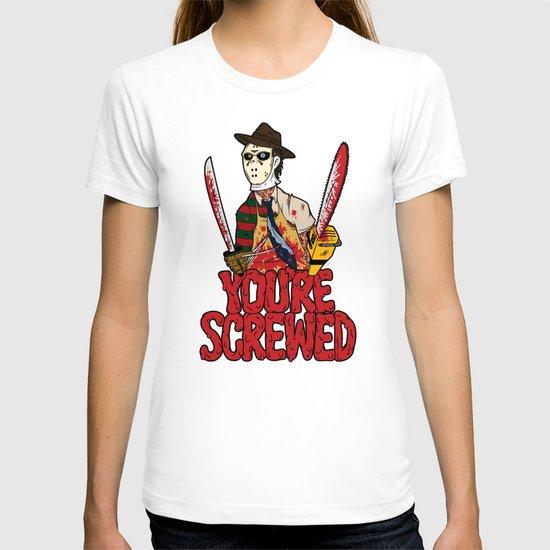 Slasher Mash (SFW) T-shirt