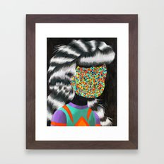 Beautiful Dreamer Anonima Framed Art Print