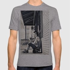 South Tacoma Skater  Mens Fitted Tee Athletic Grey SMALL