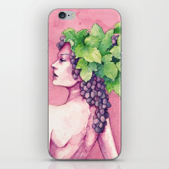Baccante iPhone & iPod Skin