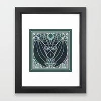 Bat From Transylvania Framed Art Print