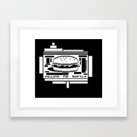Killing Me Softly Framed Art Print