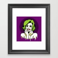 Some Like It Rotten Framed Art Print
