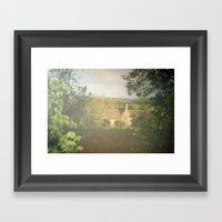 Sunday Cottage Framed Art Print