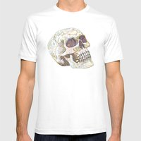 A Fellow of Infinite Jest Mens Fitted Tee White SMALL