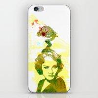 MARLENE iPhone & iPod Skin