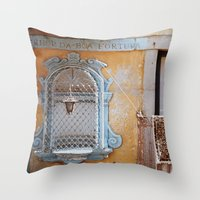 Porto Window Throw Pillow