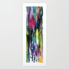 Heart Drops Art Print