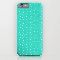 Little Blue Dots iPhone 6 Slim Case